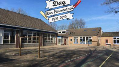 Het schoolplein van de Don Boscoschool