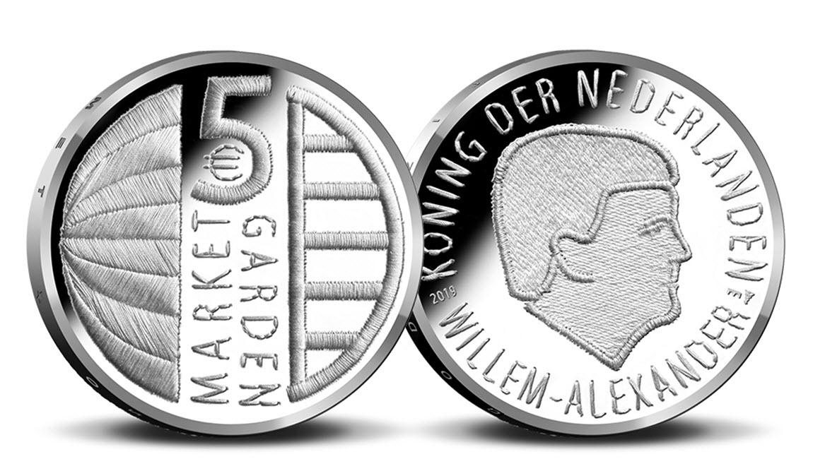 Market Garden €5-- Koninklijke Nederlandse Munt