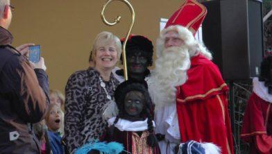Sinterklaas en zijn zwarte Pieten in Heelsum 2018