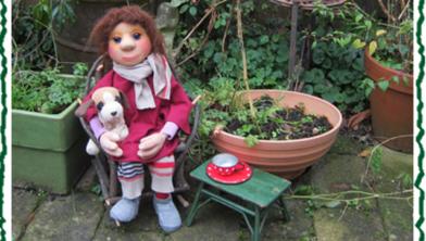 Jacob in de tuin