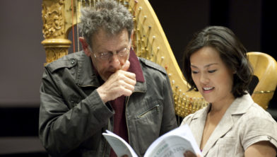 Lavinia Meijer en Philip Glass