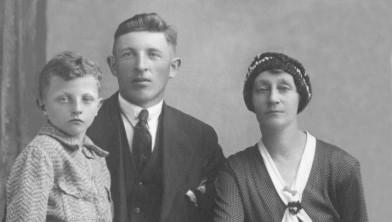 Zoon Lambert, Dirk van der Voort en zijn vrouw Dina Schuurman