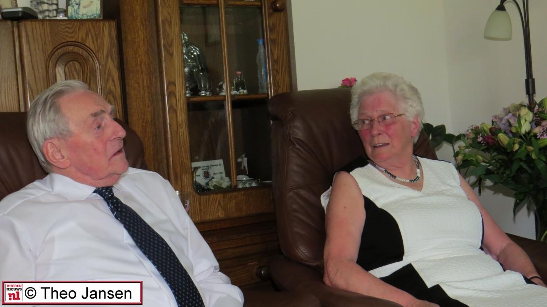 Echtpaar Elizen – Draaijer 60 jaar getrouwd