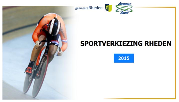 Sportverkiezing 2015 gemeente Rheden