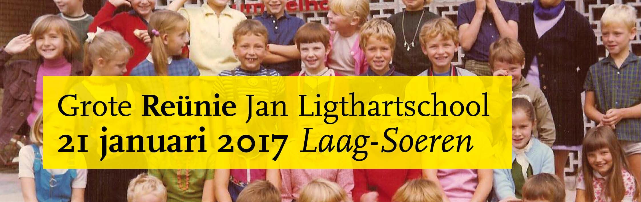 Reünie Jan Ligthartschool Laag-Soeren