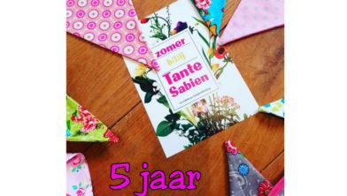 Tante Sabien Viert Haar 5 Jarig Jubileum
