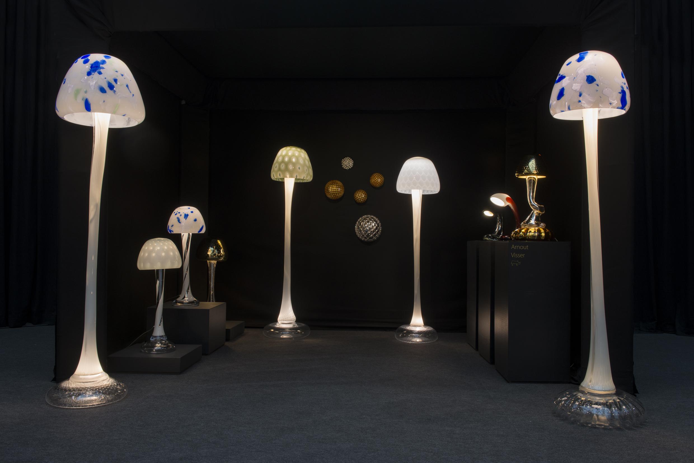 Lichtobjecten in glas
