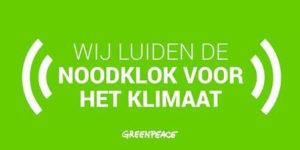 actie van Greenpeace