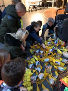 schoen zetten bij Rhederhof