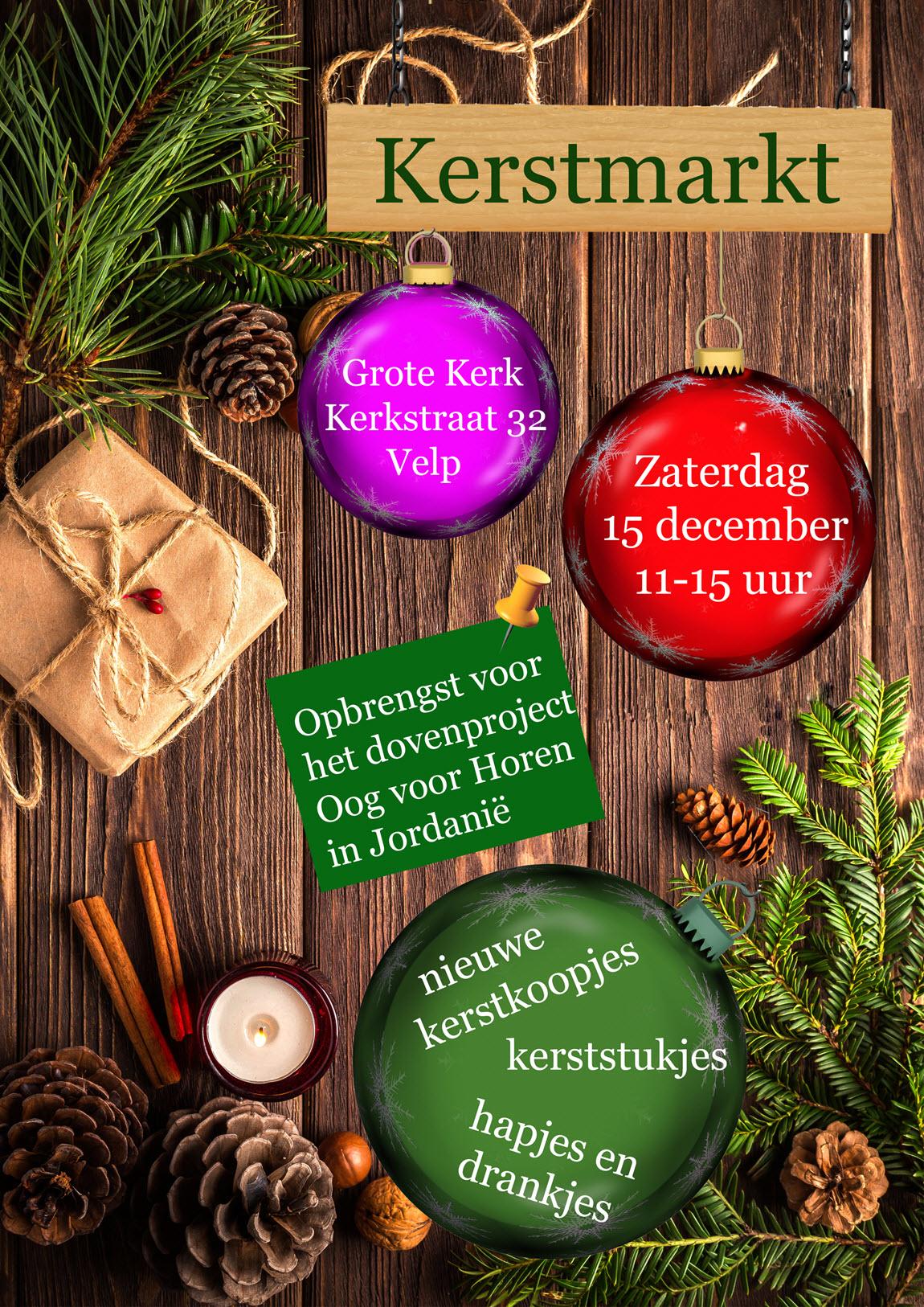 Kerstmarkt Grote Kerk Velp 2018