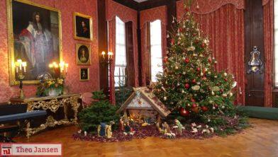 Een Bloemrijke Kerst Op Middachten