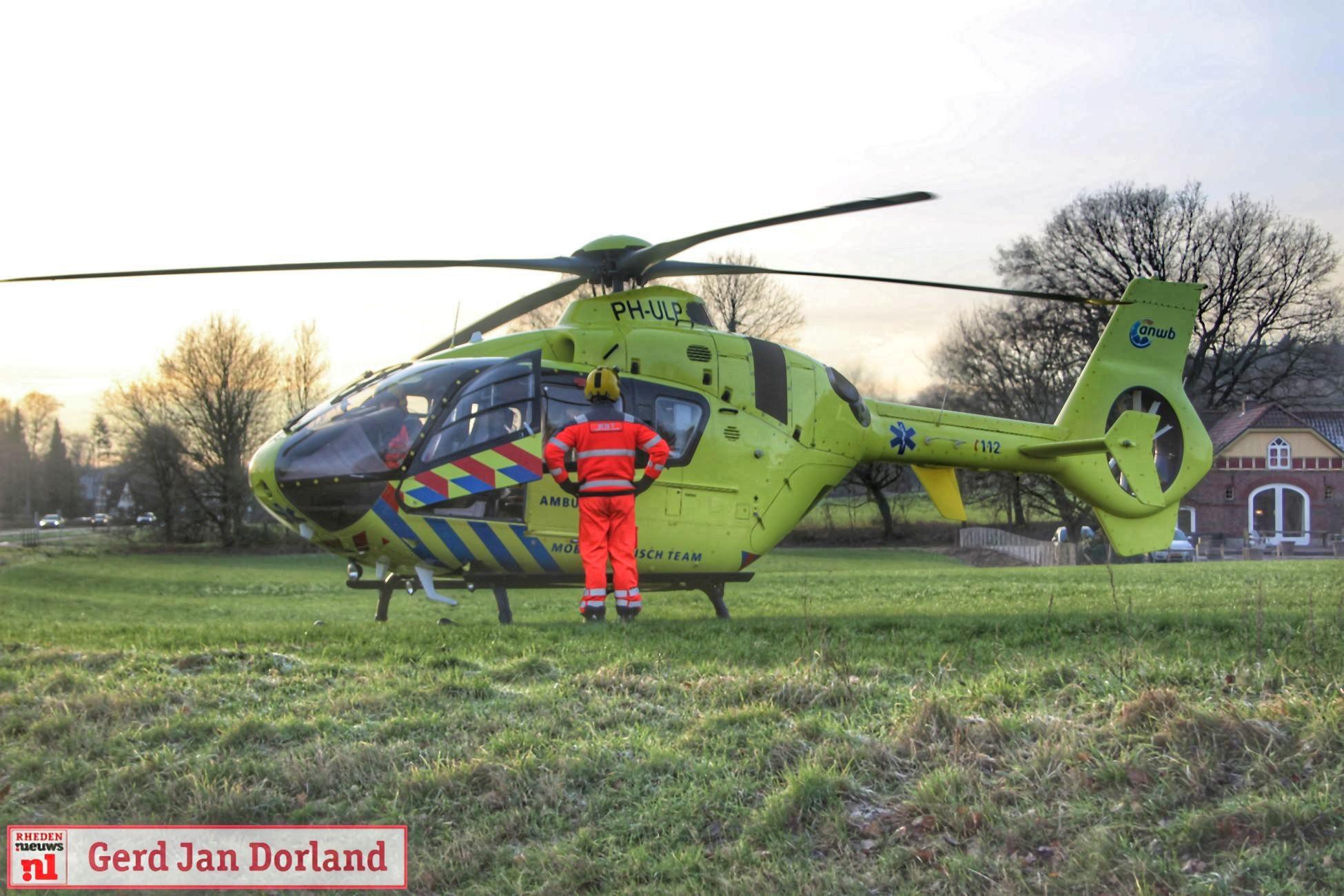 Ongeval rotonde Strijland Rheden 2019