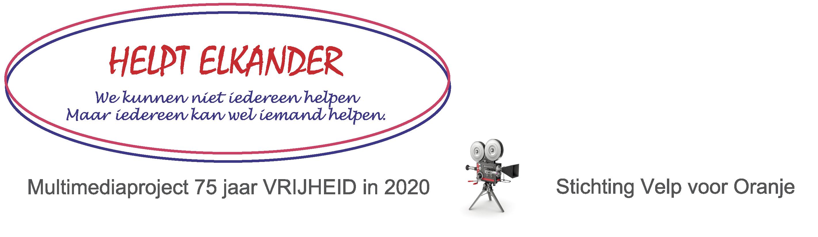 Briefhoofd Helpt Elkander - Stichting Velp voor Oranje
