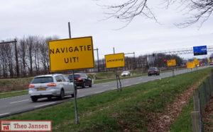 Navigatie uit!