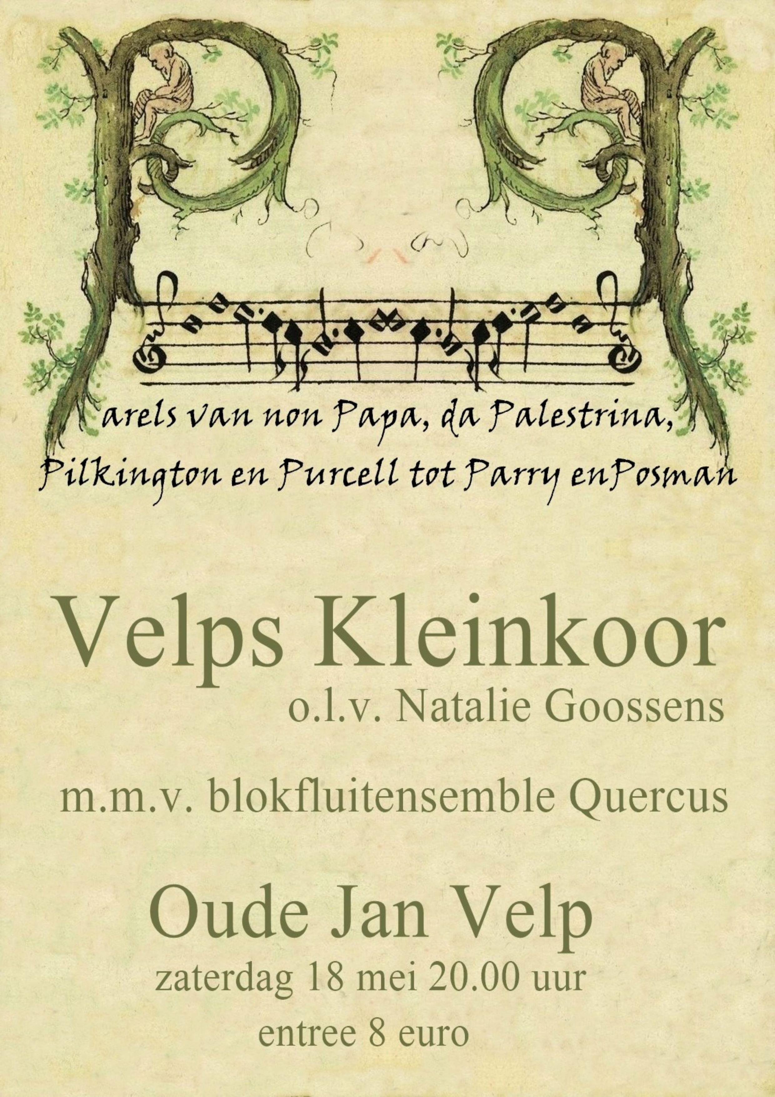 Velps Kleinkoor & Blokfluitensemble Quercus