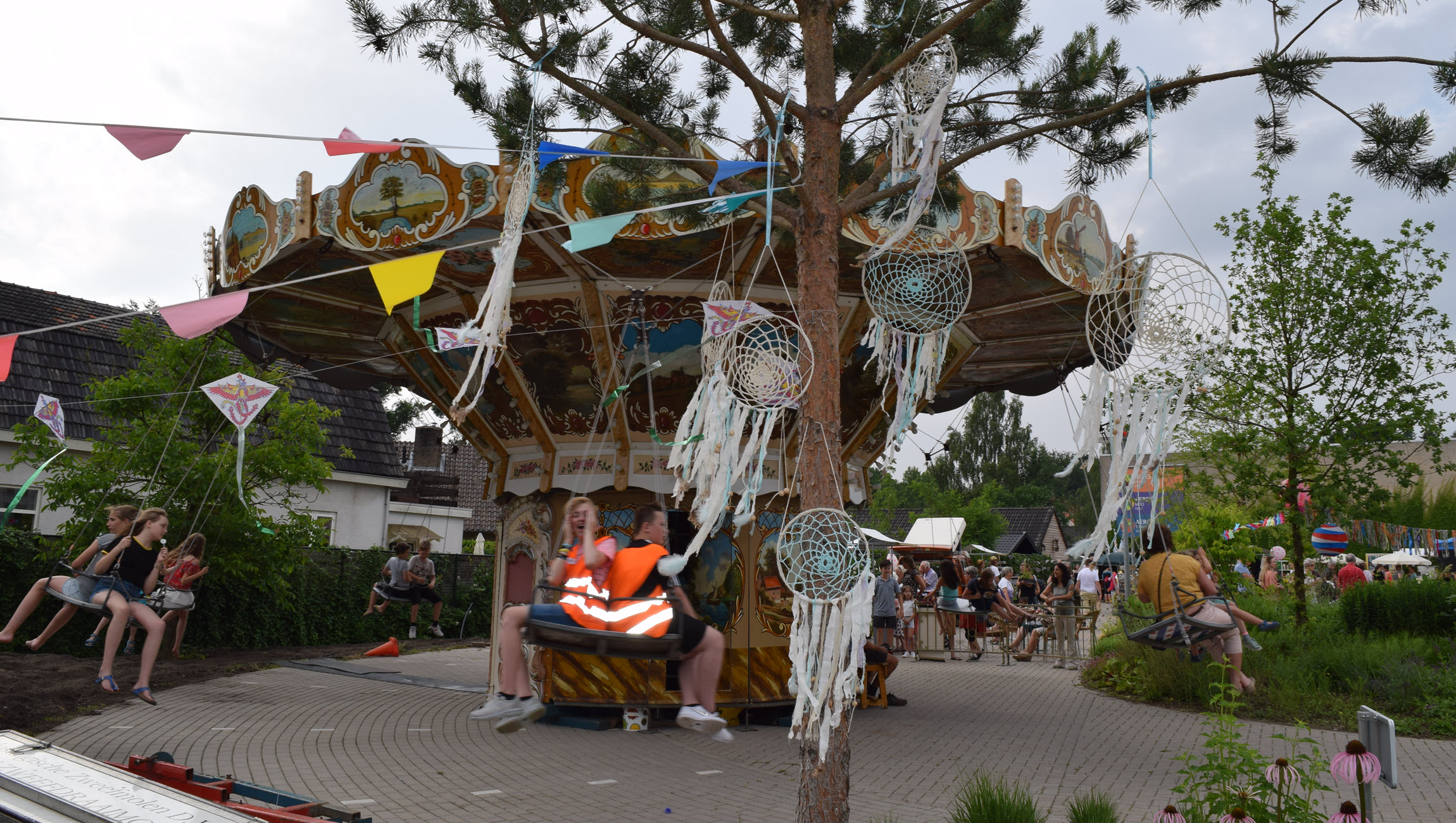 Zweefmolen en dromenvangers Festival Goed Groen