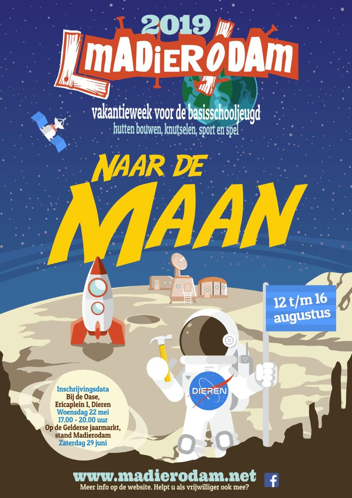 Madierodam naar de Maan