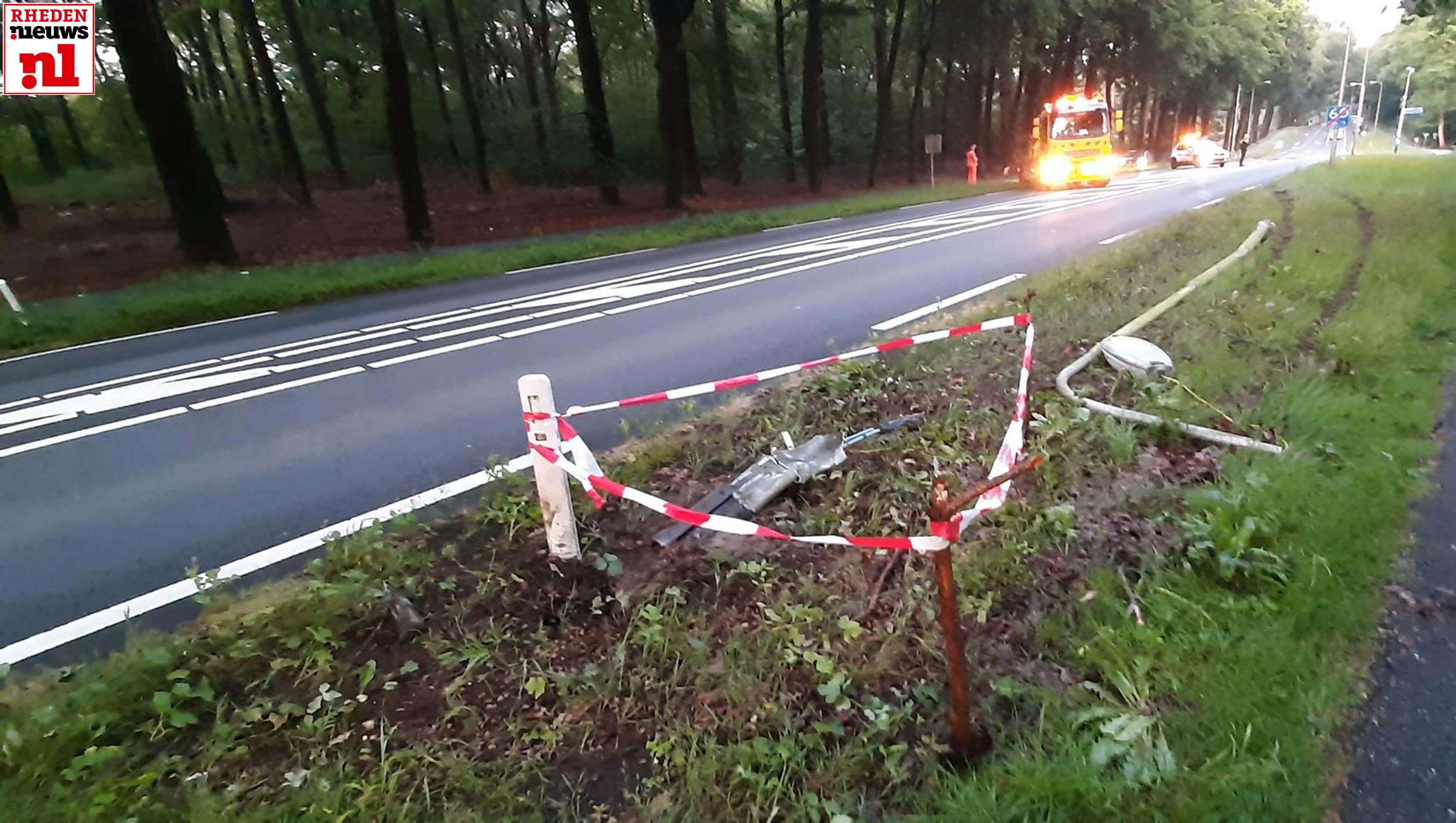 Ongeval Schelmseweg Rozendaal