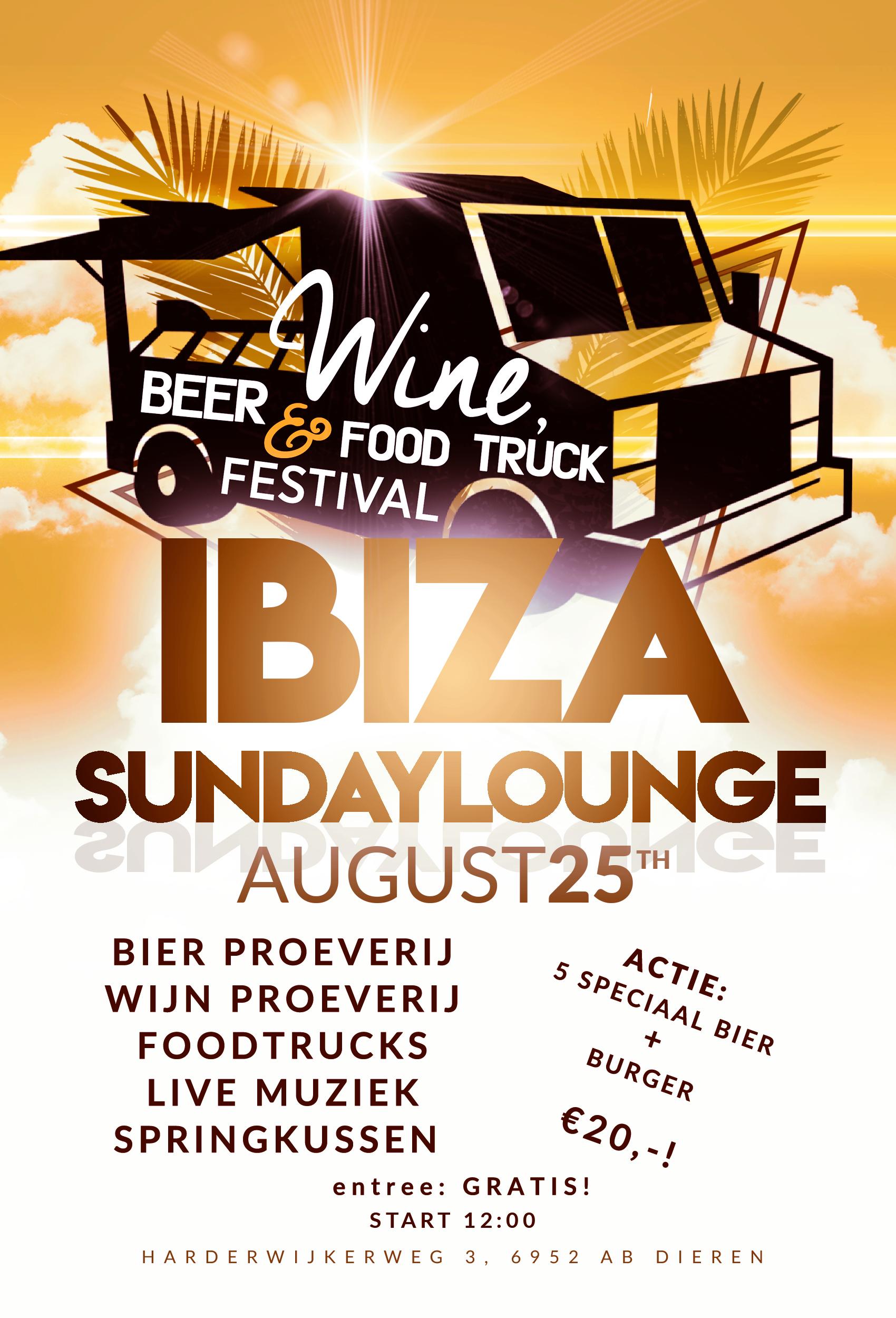 Ibiza Sundaylounge