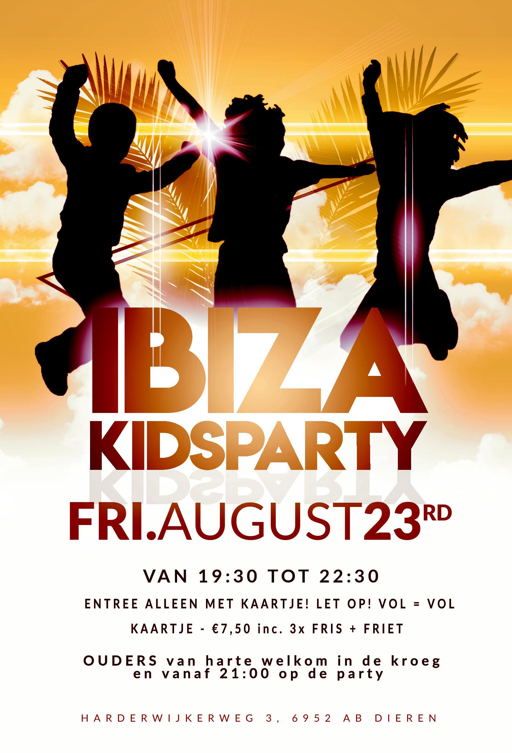 Ibiza Kidsparty