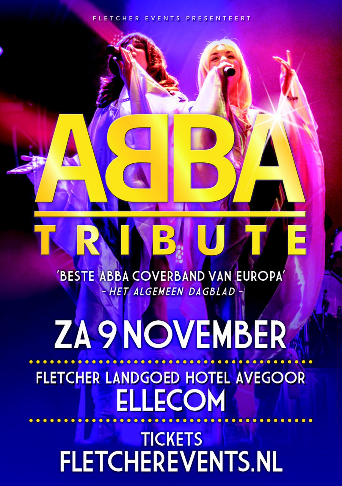 ABBA Tribute - Fletcher Landgoed Hotel Avegoor Ellecom