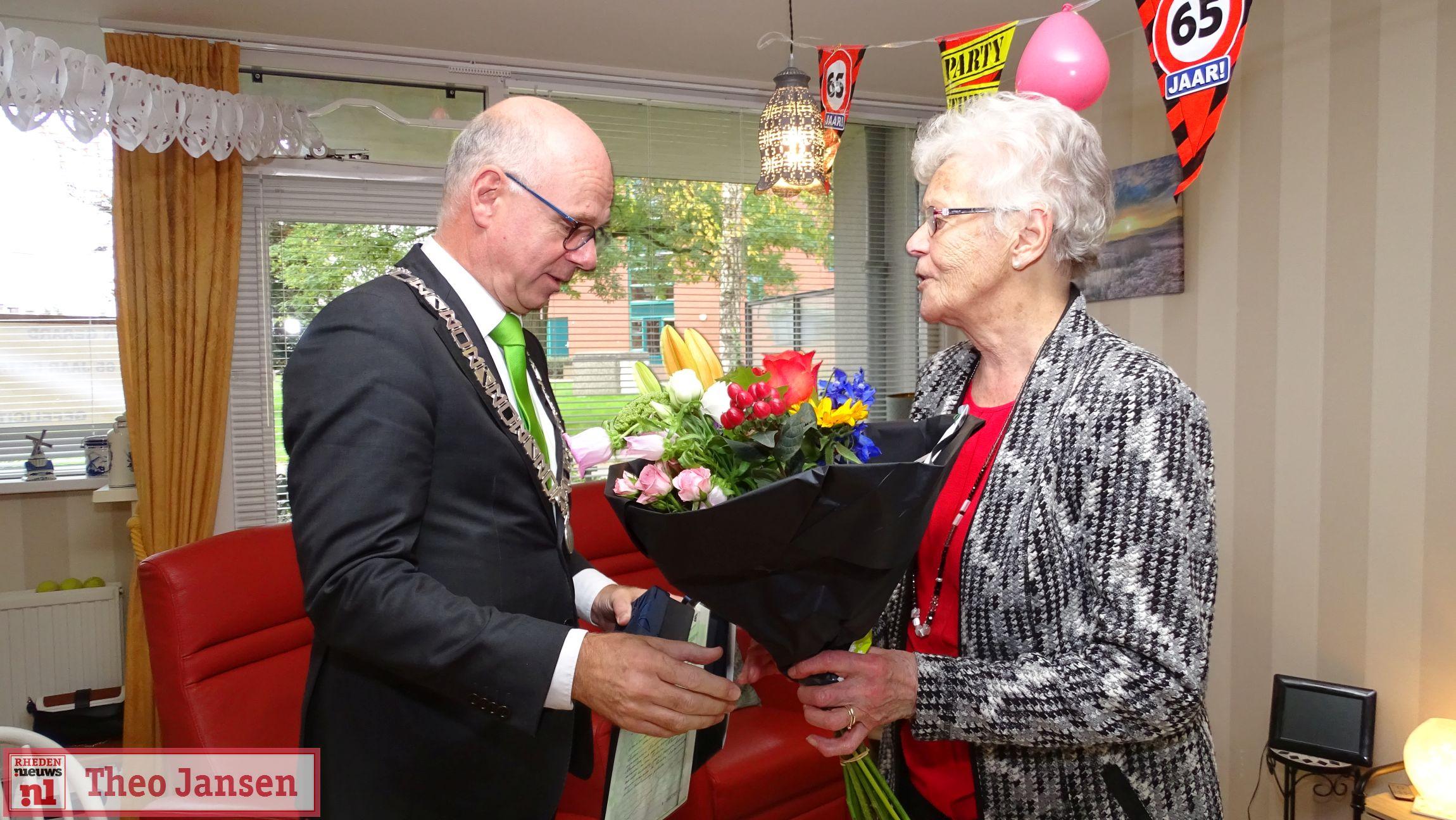 Echtpaar Jeurissen-Kemperman 65 jaar getrouwd 21-10-2019