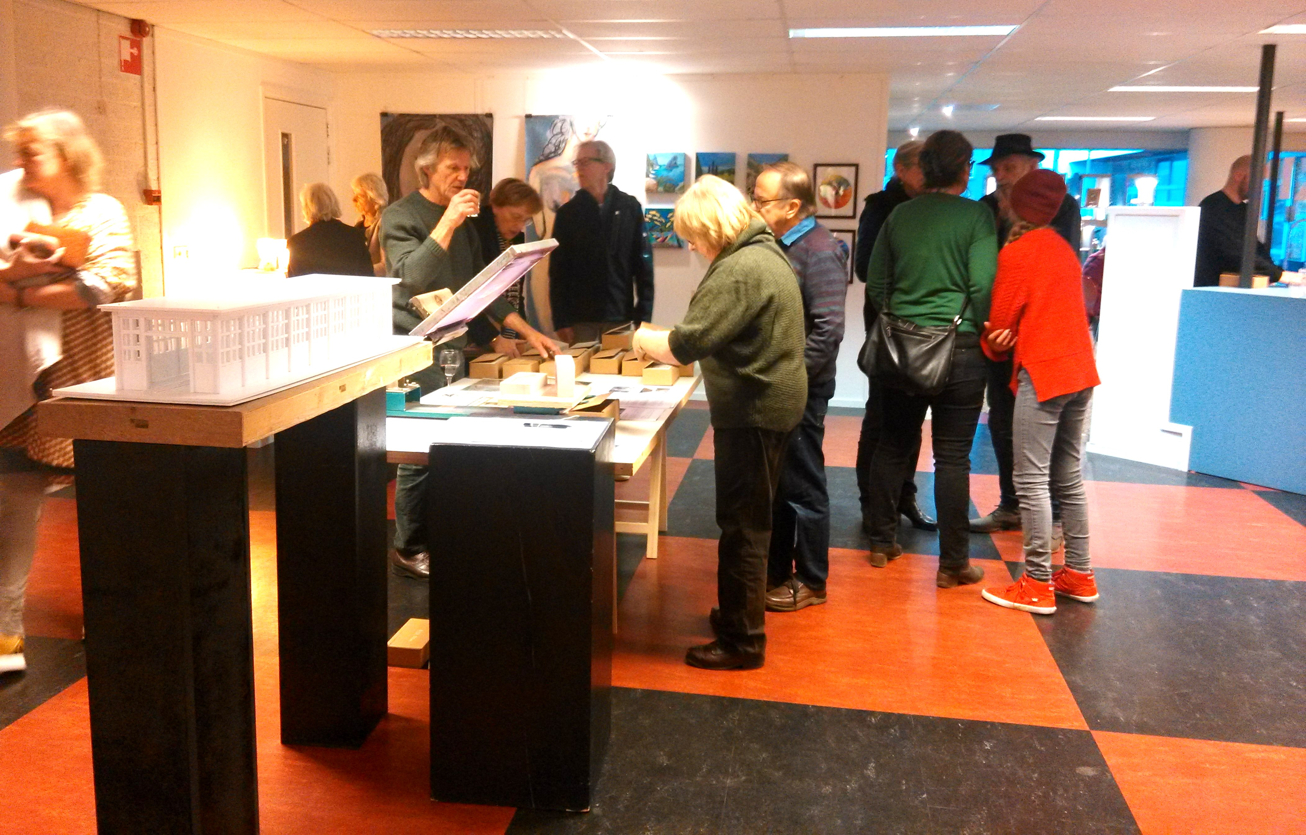 Opening Kunstwinkel - Sebastiaan Torenhof