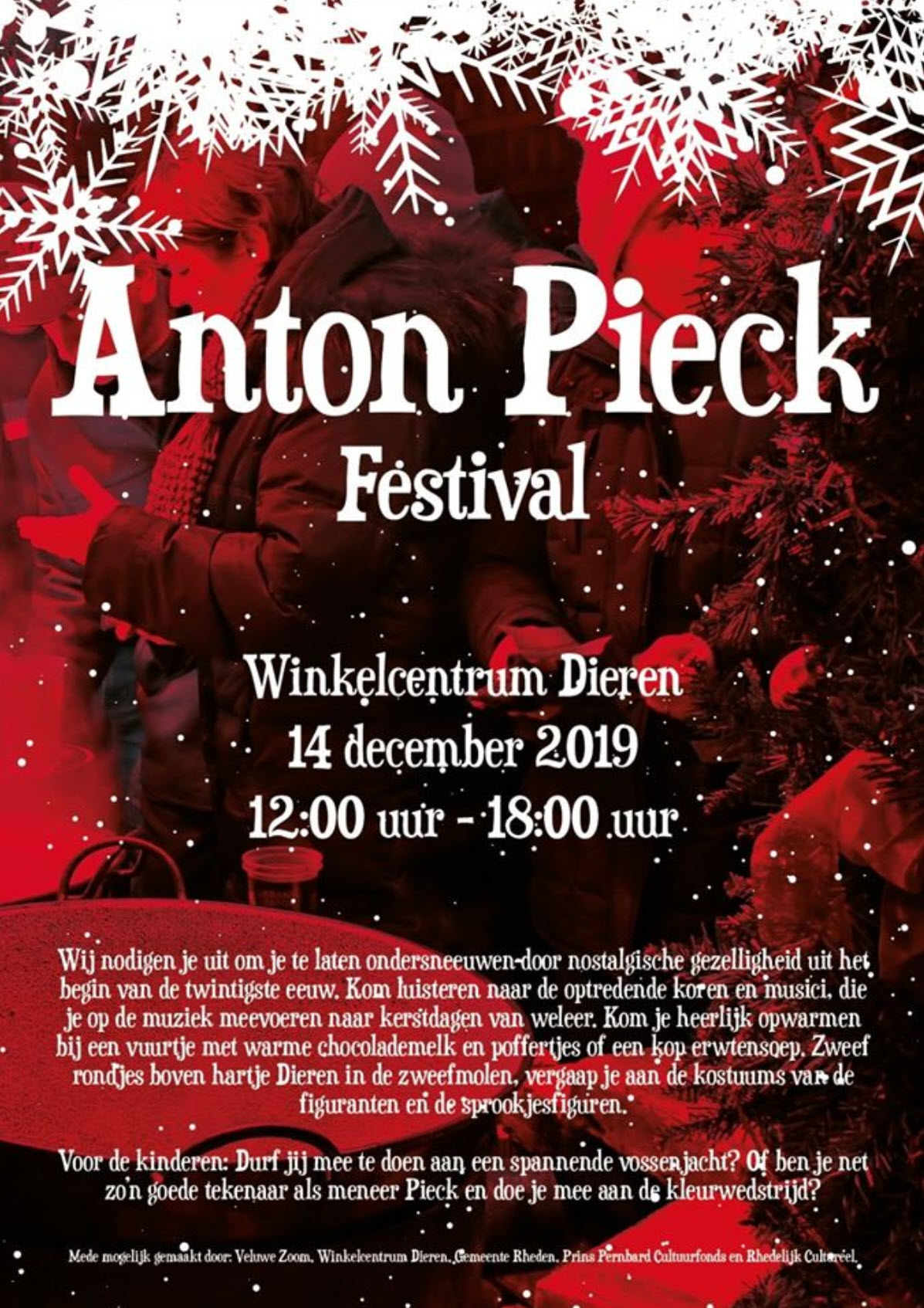 Anton Pieck Festival Dieren - Winkelcentrum Dieren