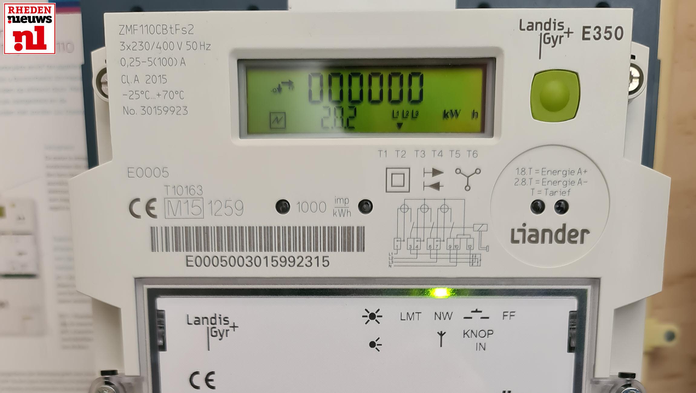 Slimme Electriciteitsmeter