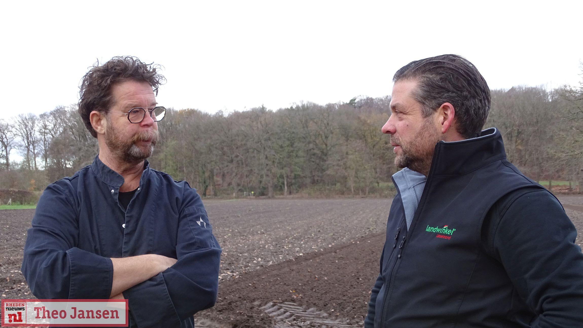Boeren helpen bij herstel historische akkers op landgoed Biljoen