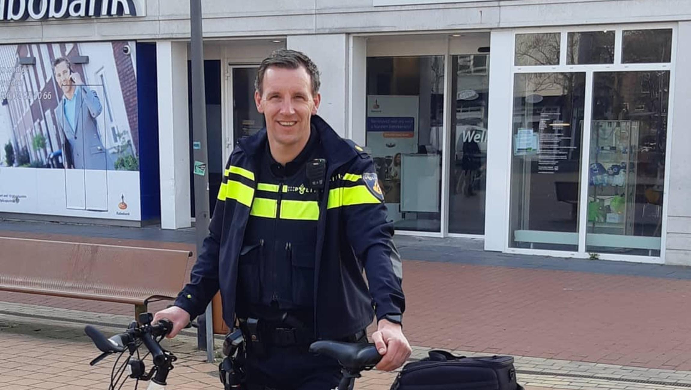 Bart Bosman wijkagent Velp-Noord