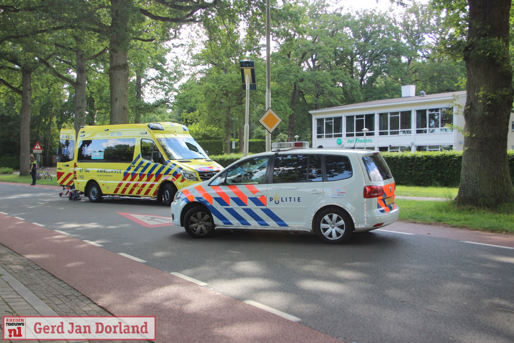 Ongeval letsel Ringallee