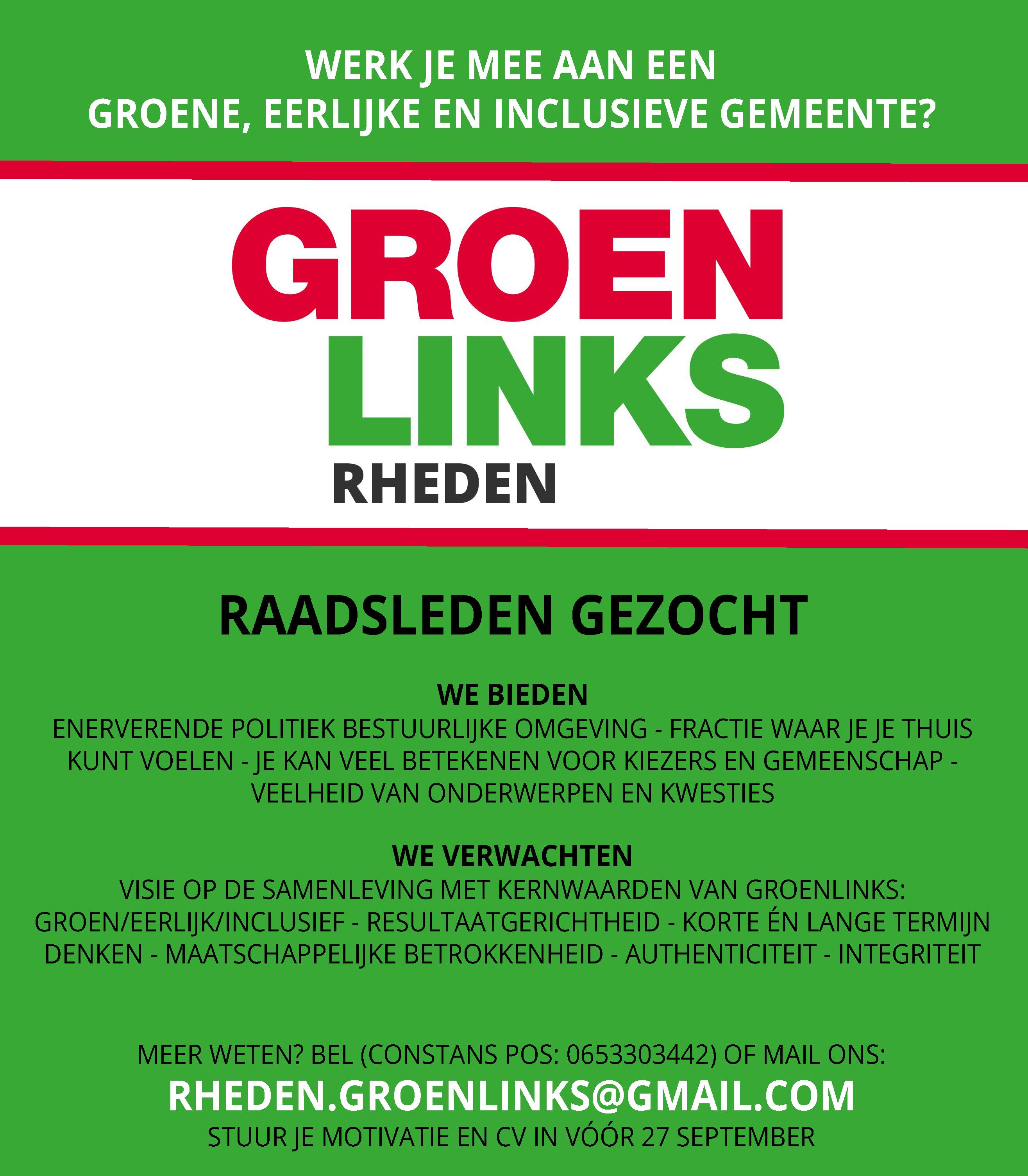 GroenLinks Rheden
