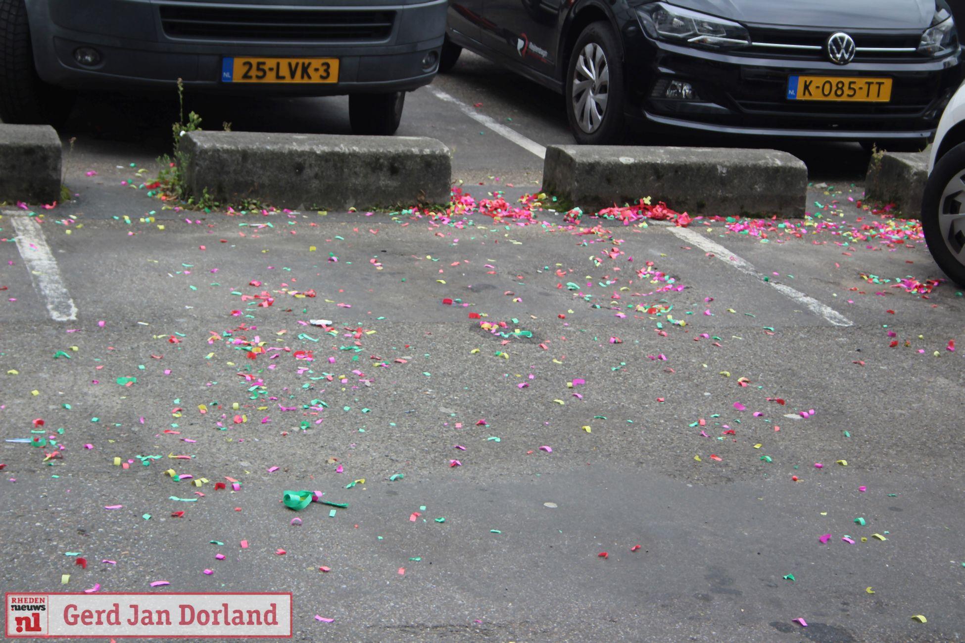 Confettibom wordt gezien als schietpartij en brengt heel veel politie op de been in Velp
