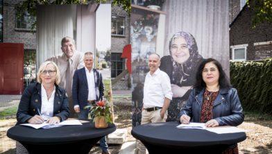 Bij Wonen-Limburg is maandagmiddag een overeenkomst ondertekend voor een zorgcentrum voor de allochtone gemeenschap op de Donderberg. Dit is een samenwerking tussen Wonen-Limburg, Proteion en zorgorganisaties op de Donderberg.