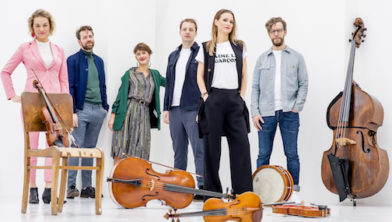 Nederland, Amsterdam, 06-12-2018. Portret van het Fuse ensemble. Foto: Andreas Terlaak