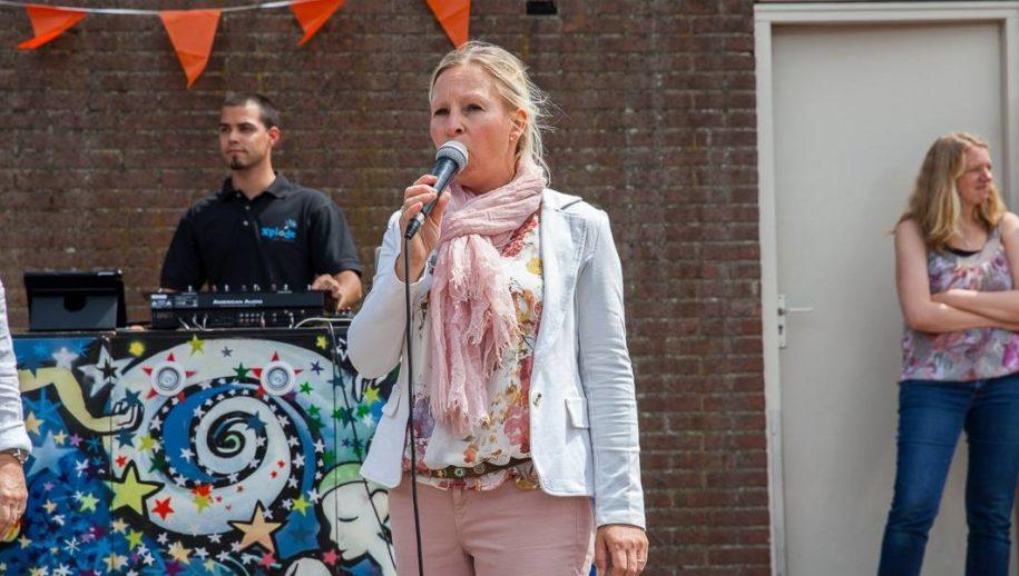 Wethouder Saskia Schenk opent DesDia