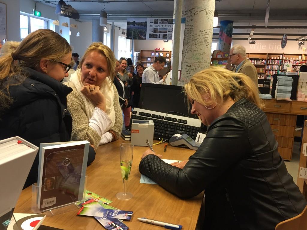 boekpresentatie Linda Jansen Boven water