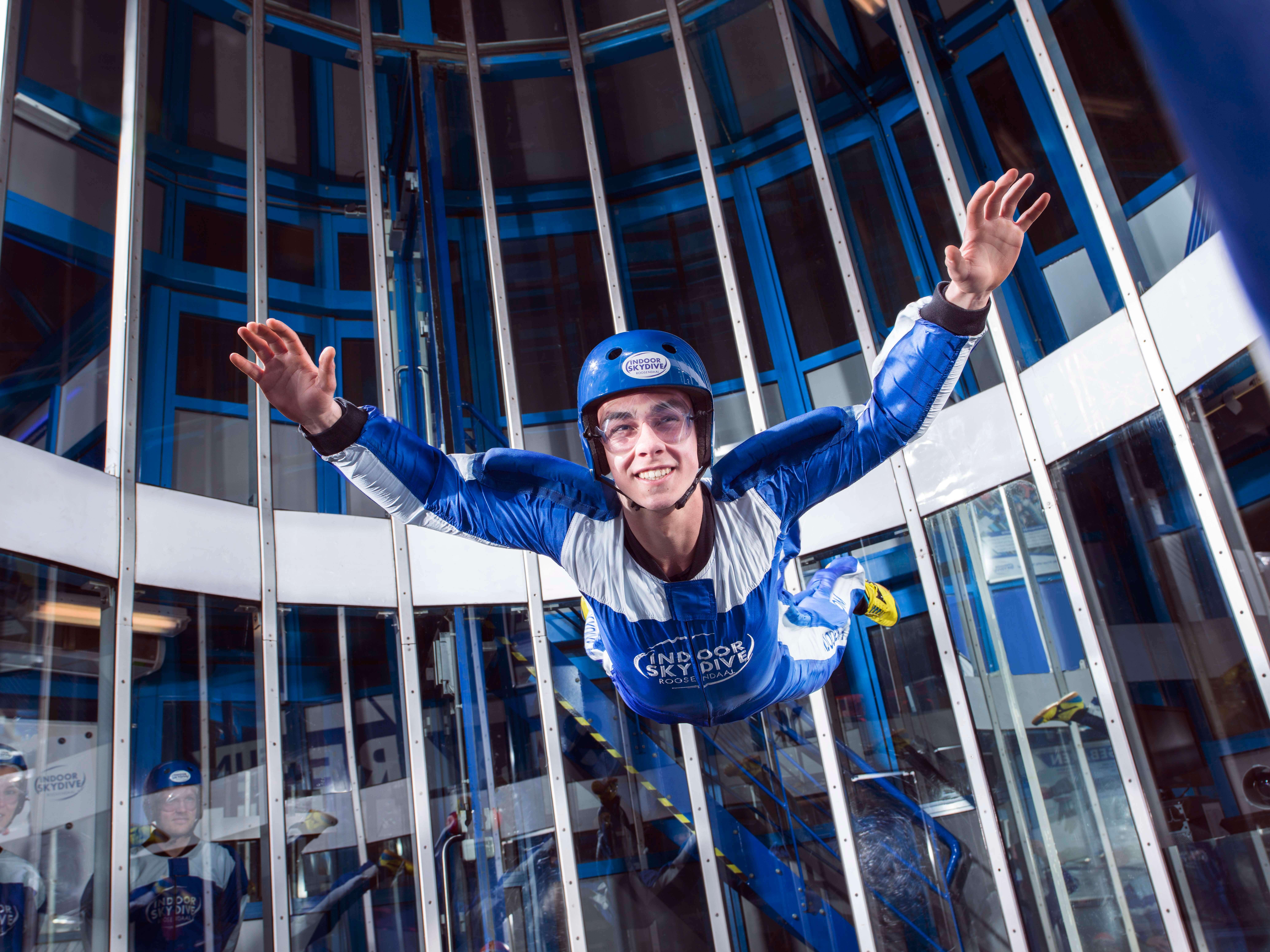 Speciale familiedag bij Indoor Skydive Roosendaal