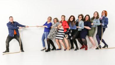 groepsfoto bij Shoots & More Breda