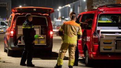 Roosendaal, Netherlands, 20-04-2021, Drugscaravan zorgt voor stankoverlast in Roosendaal, Een caravan vol met drugsafval heeft dinsdagavond voor flinke stankoverlast gezorgd in Roosendaal. De indringende wietlucht was in verschillende wijken te ruiken., De caravan was eerder op de middag naar het gemeentelijke terrein aan de Gewenten is gebracht, mogelijk om vernietigd te worden. De caravan werd gevonden op de Schuurakker. Daar stond hij gevuld met drugsafval., De brandweer heeft ter plekke metingen verricht. Wat er met de caravan gaat gebeuren is nog niet bekend.
