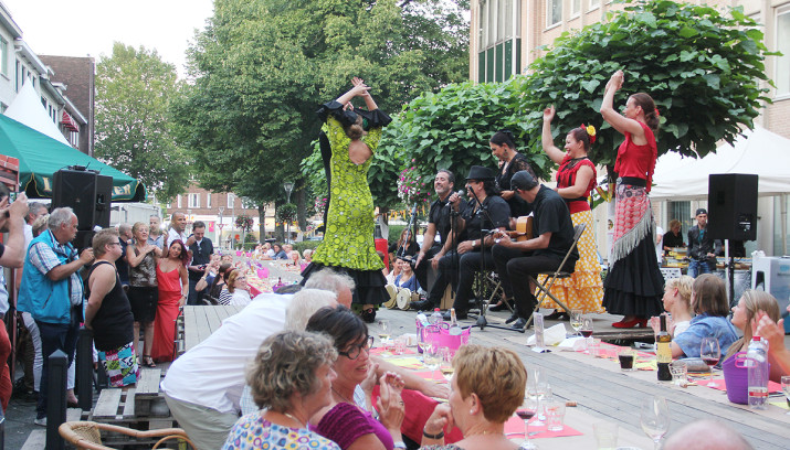Spaanse Flamencogroep Studio España
