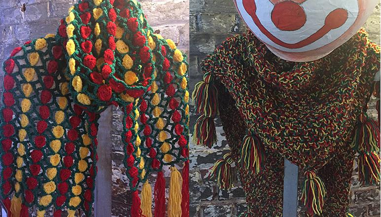 Brei Een Sjaal Of Haak Een Pruik Voor Carnaval