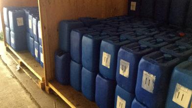 Duizenden liters chemicaliën aangetroffen in Echt
