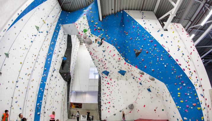 Klimsport bij IVY climbing