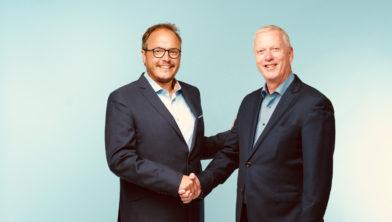 Mat Scheepers (l) en Rob Dreessen