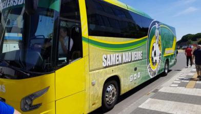 De nieuwe teambus