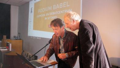 Wethouder Jos Bessems en voorzitter Bart Jan de Graaf