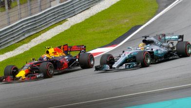 Verstappen versus Hamilton in 2018
