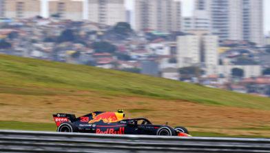 Max Verstappen op Interlagos in Sao Paolo